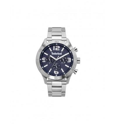 Relógio analógico masculino de quartzo Timberland stranton com pulseira de aço inoxidável TBL.15358JS-03M
